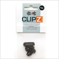 Hide-A-Mic Clipz Hair Clips for Microphone Mounting (Various Colours)