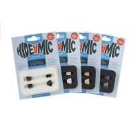 Hide-A-Mic Sennheiser MKE2 Lavalier Microphone Holders (Complete Set of 4)