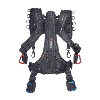 K-Tek KSHRN3 Stingray Sound Harness (3rd Gen) with Back-Saving Exospine