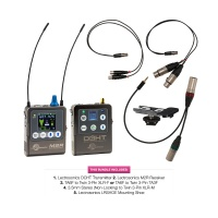 Lectrosonics DCHT Camera Hop Bundle w/ Transmitter, Receiver & Cables