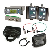 Lectrosonics SRC Dual-Channel Receiver w/ External Back Plate Adapter + 2x SMDWB Transmitters w/ Accessories Bundle