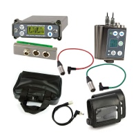 Lectrosonics SRC Dual-Channel Receiver w/ External Back Plate Adaptor + 2x SMWB Transmitters w/ Accessories Bundle