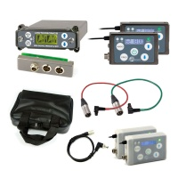 Lectrosonics SRC Dual-Channel Receiver w/ External Back Plate Adaptor + 2x SSM Transmitters w/ Accessories Bundle