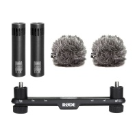 Line Audio CM4s w/ Rode WS8 Windshields & Stereo Bar Bundle