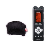 Nagra Mezzo 2-Channel Digital Handheld Audio Recorder w/ Rycote Windjammer Bundle