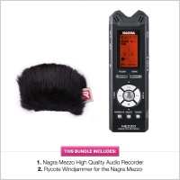 Nagra Mezzo 2-Channel Digital Handheld Audio Recorder w/ Rycote Windjammer