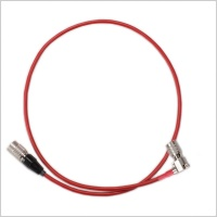Pinknoise Custom Hirose HR10A Straight to HR10A Right Angled Power Cable (Various Lengths)