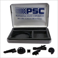 PSC MilliMic Miniature Lavalier Microphone w/ Case & Accessories