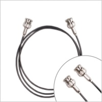 Pinknoise Custom BNC to BNC - Pair (Various Lengths) RG174 50ohm