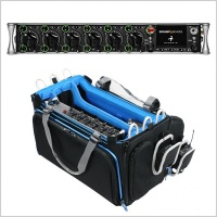 Pinknoise Bundle: Sound Devices Scorpio 36-Track Audio Mixer/Recorder w/ Orca OR-334 Mixer Bag