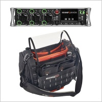 Sound Devices 833 Portable Mixer-Recorder W/ K-Tek Stingray Small Audio Bag
