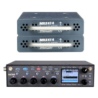 Zaxcom Nova Mixer Recorder w/ 2x MRX 414 4-Channel Slot-In Receiver Bundle