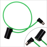 Pinknoise Custom Cable Low Profile 3-Pin XLR Male to Low Profile TA3 Female