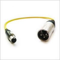 1 x Pinknoise Custom TA3 to XLR 40cm (Male) for Sound Devices