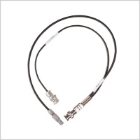 Pinknoise Custom Timecode Cable 5-Pin Lemo to 2 x BNC In/Out