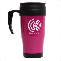 Pinknoise Systems Travel Mug
