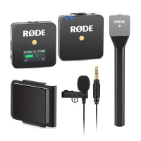 Rode Lavalier GO All-In-One Wireless System Bundle (Black)
