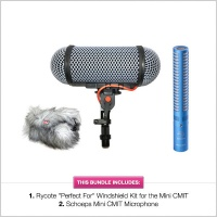 Rycote ''Perfect For'' Schoeps Mini CMIT Windshield Kit Microphone Bundle