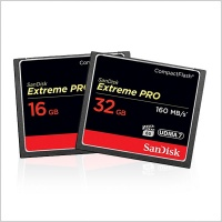 SanDisk Extreme Pro Compact Flash Memory Card (16GB/32GB)