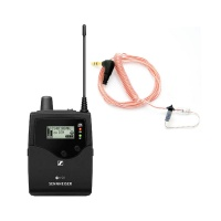 Sennheiser G4 Stereo IEM Bodypack Receiver w/ BubbleBee Sidekick In-Ear Monitor Bundle