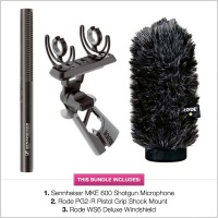 Sennheiser MKE 600 & Rode Pistol Grip Bundle
