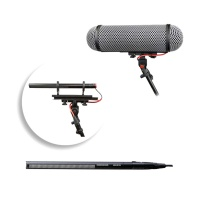 Sennheiser MKH 416 with Rycote ''Perfect For'' Windshield Basket Bundle