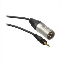 Sony EC-0.46BX 3.5mm Locking Jack to XLR 3 pin Male