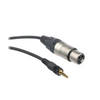 Sony EC-1.5BX 3.5mm Locking Jack to XLR 3 pin Female