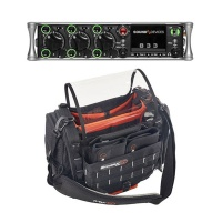 Sound Devices 833 Portable Mixer-Recorder W/ K-Tek Stingray Small Audio Bag Bundle
