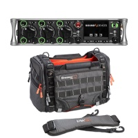 Sound Devices 833 Portable Mixer-Recorder W/ K-Tek Stingray Small-X Audio Bag Bundle