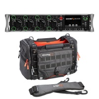 Sound Devices 888 Portable Mixer-Recorder W/ K-Tek Stingray Small-X Audio Bag