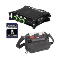 Sound Devices MixPre-3 II + K-TEK KSTGMIX Stingray Sound Bag w/ SD Card Bundles