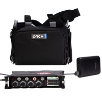 Sound Devices MixPre-6 II & Orca OR-28 w/ Ansmann USB-A Powerbank & Cable Bundle