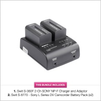 Swit 8770/3602F DV Battery & Charger Kit