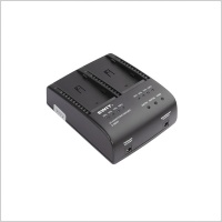 Swit S-3602F 2-ch SONY NP-F Charger and Adaptor