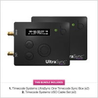 Timecode Systems UltraSync One Timecode Sync Box (2 Pack)