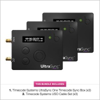 Timecode Systems UltraSync One Timecode Sync Box (3 Pack)