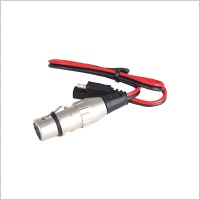 Tracer TR8144 Bullet to XLR 4-Pin Powering Cable