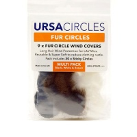 URSA Fur Circles Mini Windshields for Lavalier Microphone (Pack of 9)