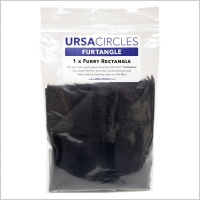 URSA FurTangle 30 x 15cm Furry Rectangle for Custom Windshield Applications