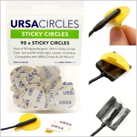URSA Sticky Circles for Lavalier Microphones (Pack of 90)
