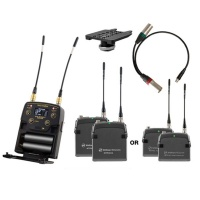 Wisycom MPR52 Dual Channel Ultra-Wideband Receiver Kit (w/ Options) Bundle