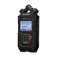 Zoom H4N Pro Handheld Portable Recorder (All-Black)