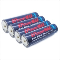 iPowerMAX AA Lithium-Polymer 2600mWh Rechargeable Batteries x4 inc Case